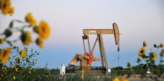 Oil prices dip as U.S. crude stocks and weak Chinese data weigh