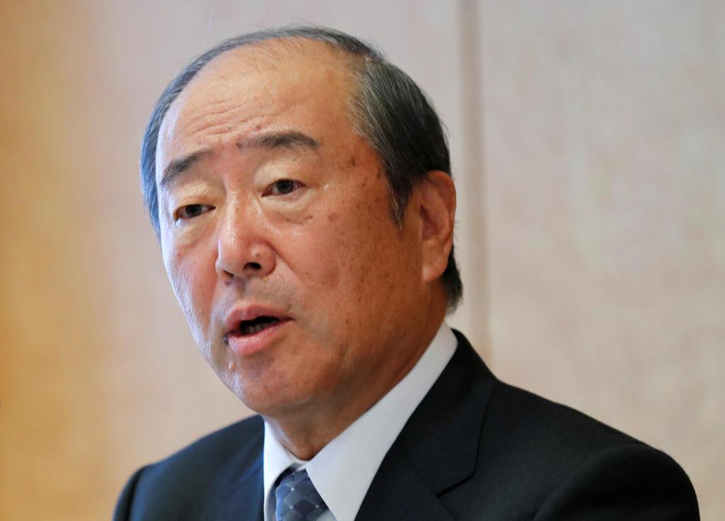 Idemitsu Chairman Takashi Tsukioka