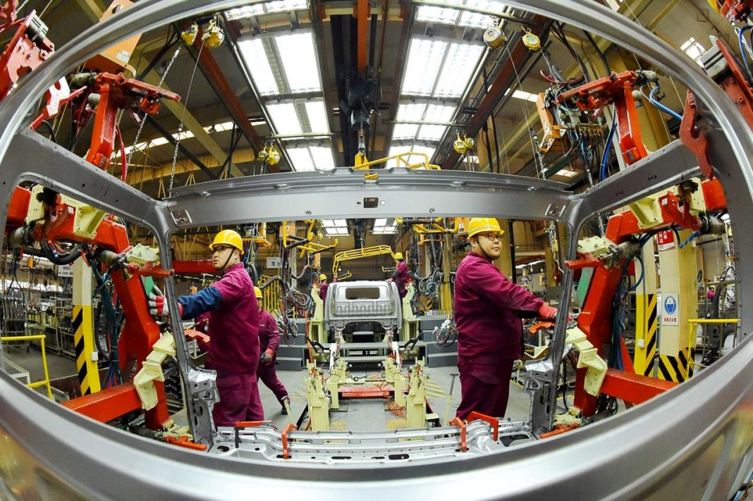 China economic data fuels risk-on sentiment