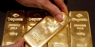 Gold shows a modest bullish bias