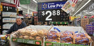 US consumer prices gain slightly; underlying inflation tame