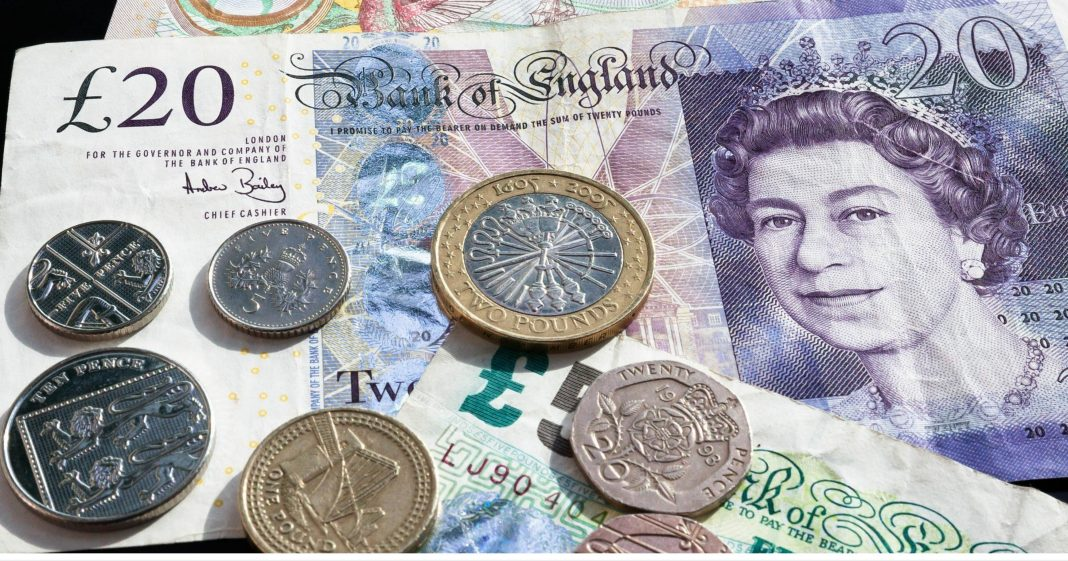 Pound driven lower by weak economic data and the BoE