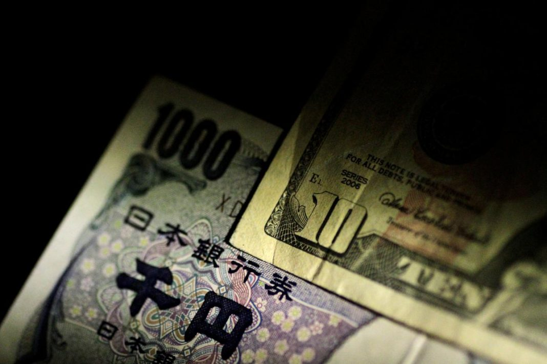 The yen was set for its worst week in two-and-a-half years on Friday, as fears over the creeping spread of the coronavirus epidemic drove funds out of Asia and looking for safety in the U.S. dollar, gold and bonds