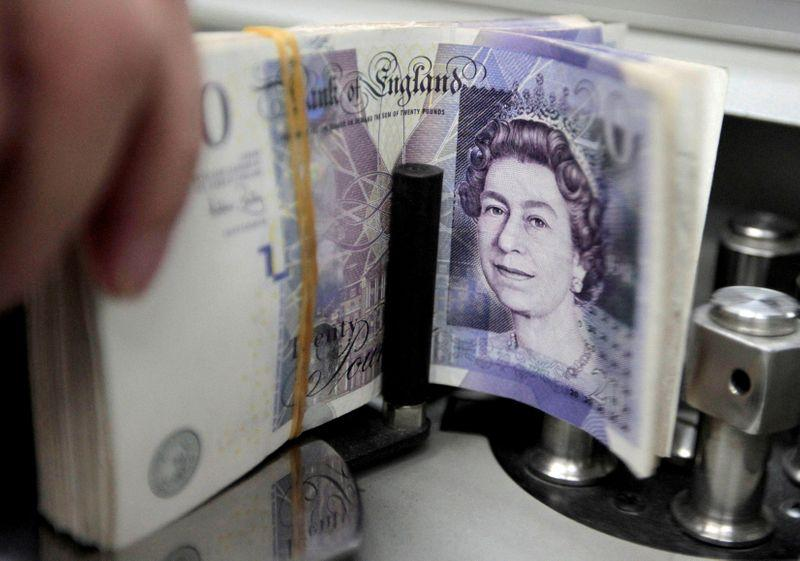 The pound dropped on Friday, particularly against the euro, as worries about the fast-spreading coronavirus sent investors out of currencies deemed riskier.