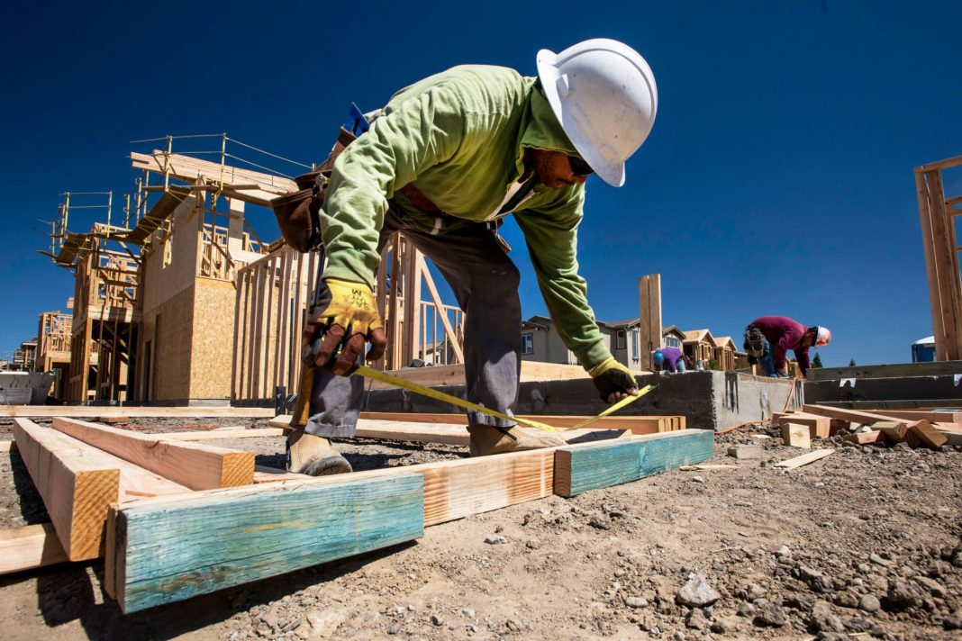 U.S. homebuilding fell less than expected in January