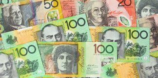 The aussie gained more than 30 pips on the RBA interest rate decision