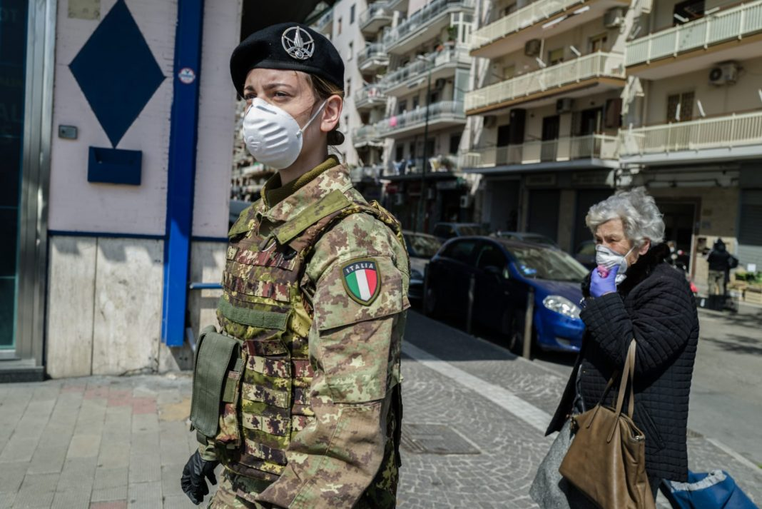 Italy's death toll from the virus passed the 7,500 mark on Wednesday, the country's Civil Protection Agency said, however it noted that the rate of new cases of contagion fell for the fourth day running.