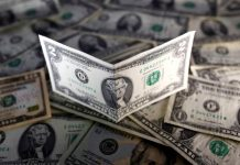 U.S. dollar notes are seen in this November 7, 2016 picture illustration. Picture taken