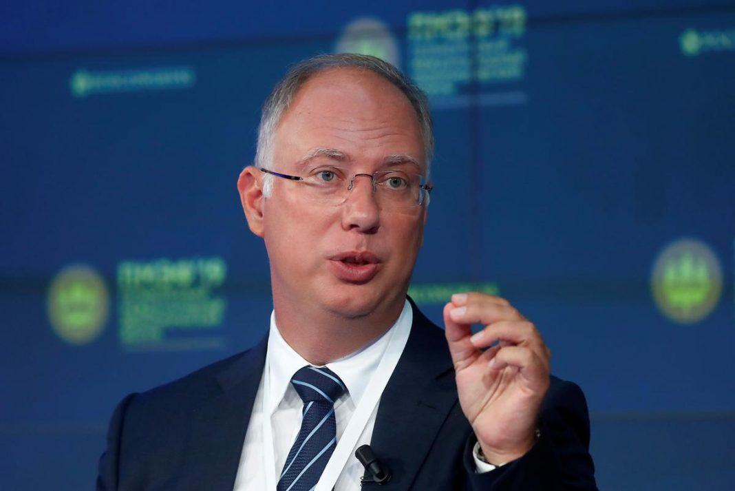 Kirill Dmitriev, chief executive of the Russian Direct Investment Fund, attends a session of the St. Petersburg International Economic Forum (SPIEF), Russia