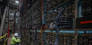 Greenidge Generation's bitcoin mining facility, image via Greenidge