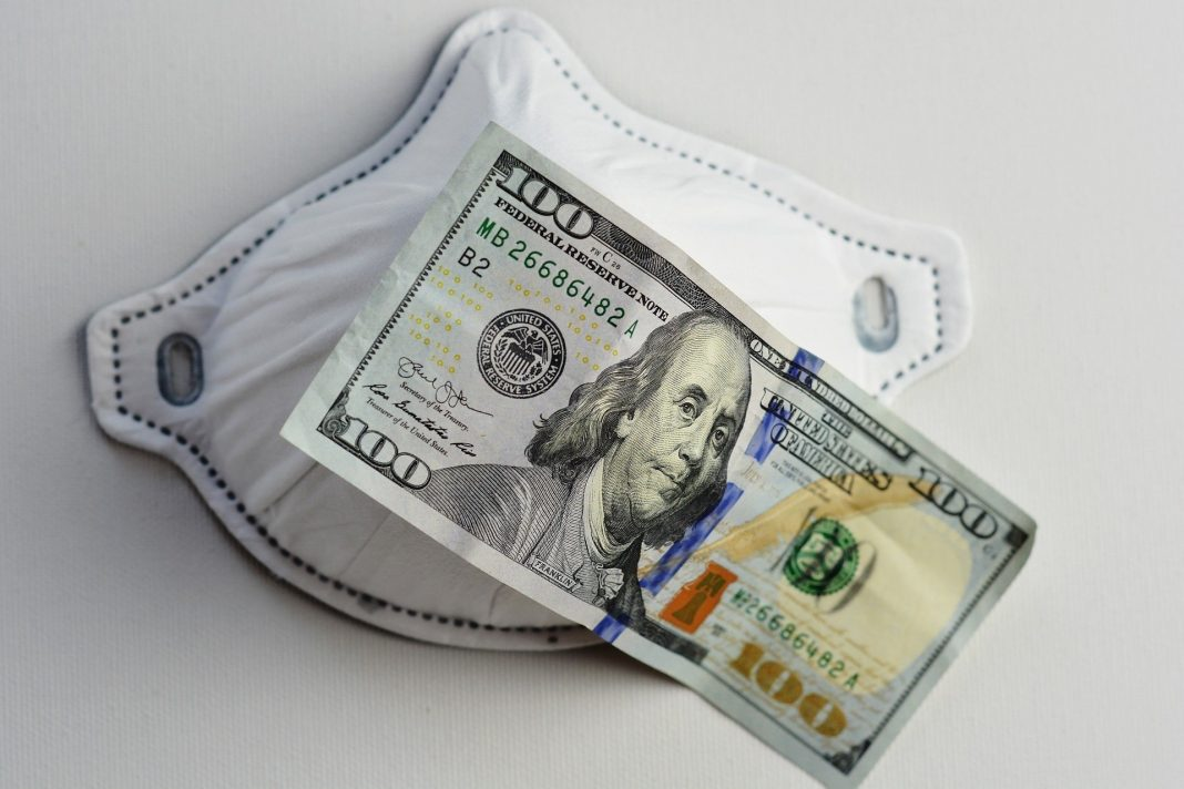 The dollar rose for a second straight day against a basket of currencies on Thursday as investors, worried about the prospect of a global recession continued to take shelter in the greenback.