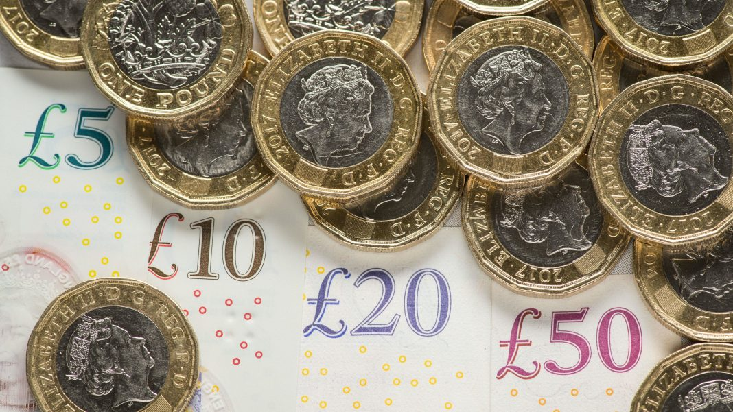 Sterling slid on Monday as Britain's death toll from the novel coronavirus increased and officials said it was too soon to talk about easing the lockdown implemented to stop the virus spreading further.