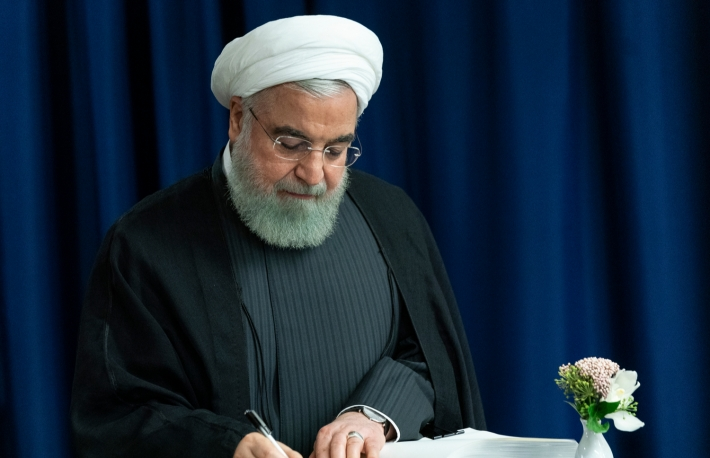 Iranian President Hassan Rouhani (Credit: lev radin / Shutterstock)