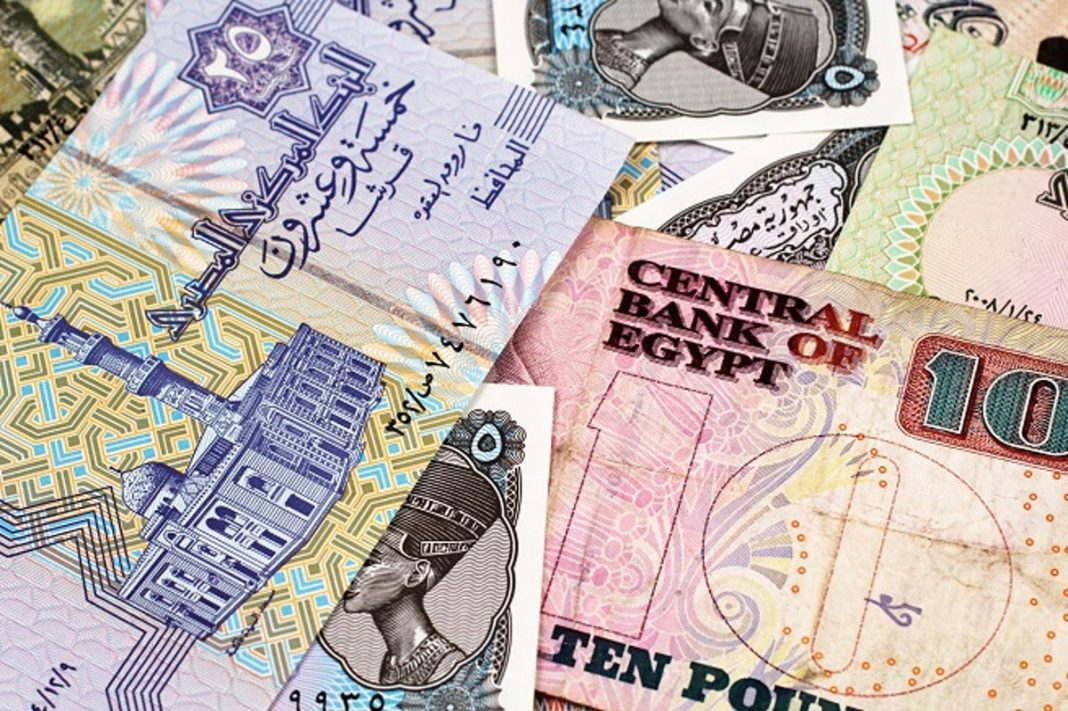 Egypt's currency weakened on Monday to its lowest against the U.S. dollar since early February, before the coronavirus ravaged some of its biggest sources of foreign exchange.