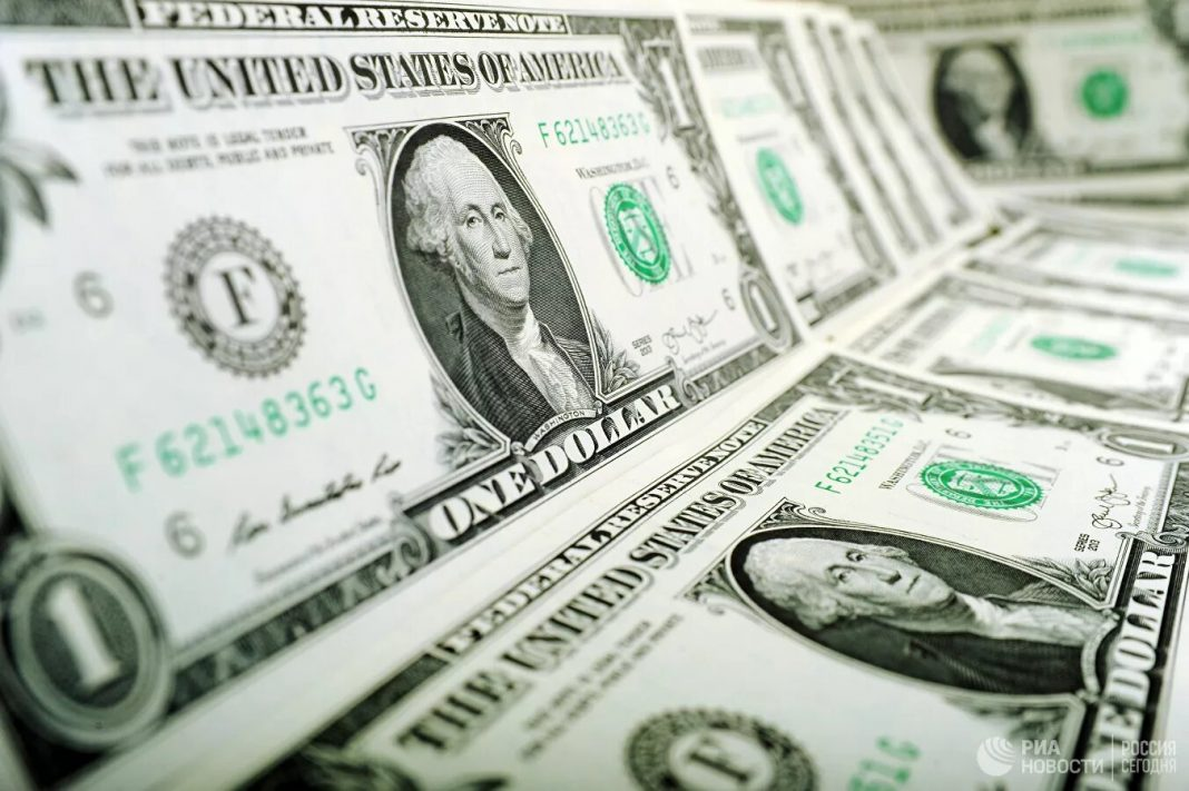 The dollar nursed losses against major currencies on Tuesday after encouraging results from the trial of a vaccine for COVID-19 improved sentiment in a boost to riskier assets.