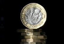Sterling fell 0.8% against the dollar on Friday, touching its lowest level in almost a month, with doubts about whether Britain will seal a trade pact with the European Union set to be the biggest weight on the currency over the summer.