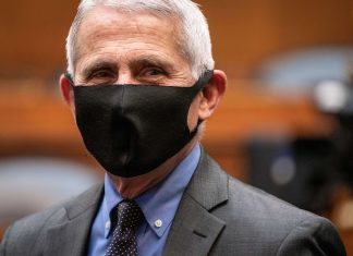 Director of the National Institute for Allergy and Infectious Diseases Dr. Anthony Fauci prepares to testify before the House Committee on Energy and Commerce on the Trump Administration's Response to the COVID-19 Pandemic, on Capitol Hill in Washington, DC, June